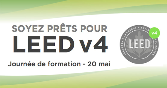 Journ e de formation leed v4 qu bec kollectif for Formation design interieur quebec