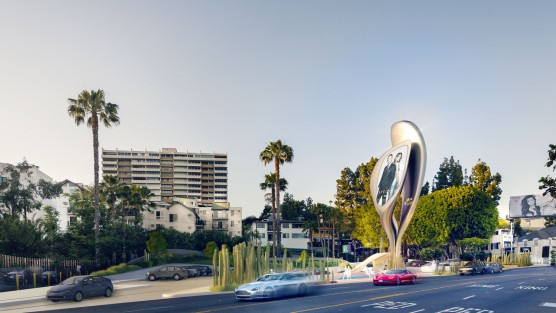 JCDecaux + Zaha Hadid Design – The Prism / Source: City of West Hollywood