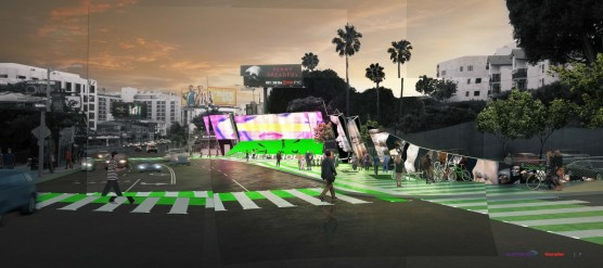 Outfront Media with Gensler + Mak Center - Now Playing Sunset / Source: City of West Hollywood